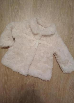 Шубка для малышки курточка пальто