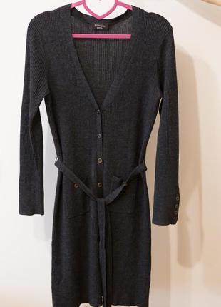 Дуже крута сукня-кардиган 50% шерсті