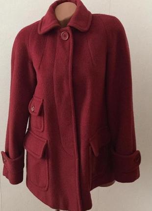 Пальто с натуральной шерсти, french connection.