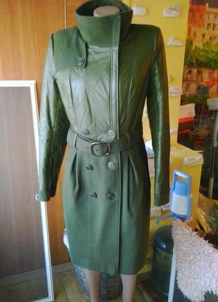 Идеальное комбинированное пальто s