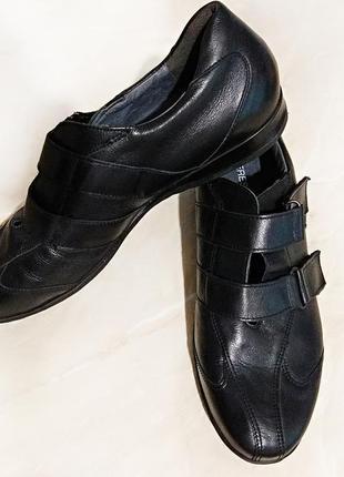 Крутые кроссовки/туфли натуральная кожа германия theresia m. оригинал