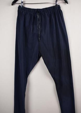 Очень стильные длинные черные прозрачные брюки