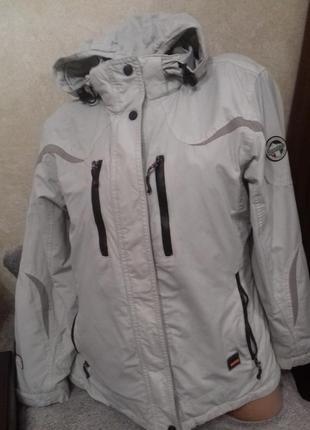 Женская серая спортивная куртка iguana, р.40