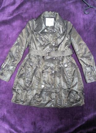 Пальто на рост 146-152