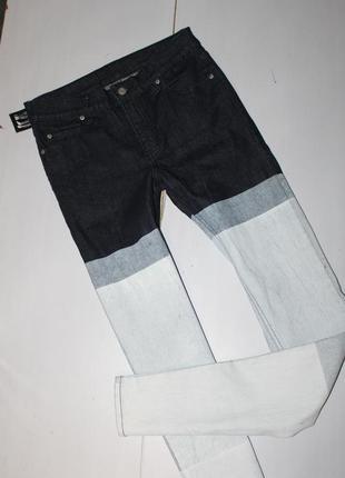 Модные прямые джинсы размер 28