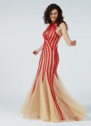 Роскошное выпускное платье