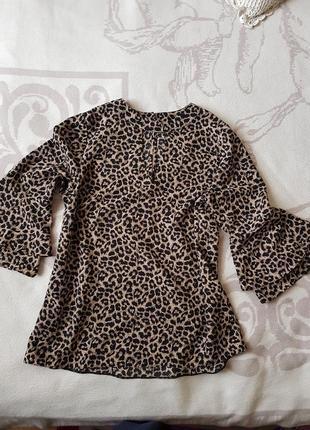 Леопардовая блуза фирмы f&f