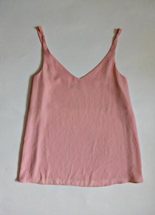 Базовая блуза на тонких бретелях 12-14
