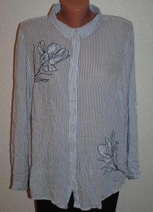 """Рубашка с вышивкой """"oasis"""""""
