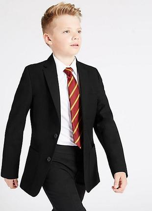 Школьный черный пиджак marks & spenser на 10 лет на рост 140 см