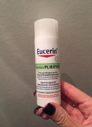 Eucerin крем для проблемной кожи с матирующим эффектом dermopurifyer hydrating care