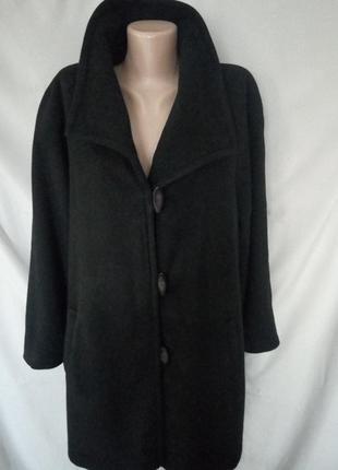Распродажа! шерстяное пальто оверсайз windsmoor, размер 18     №1vp