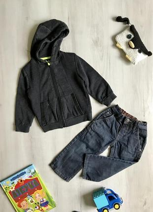 Набор на 3-4 года, джинсы, штаны, кофта, худи, толстовка, next, rebel