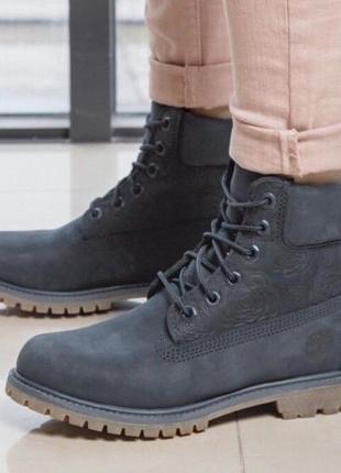 Ботинки timberland оригинал 6 inch premium boot navy