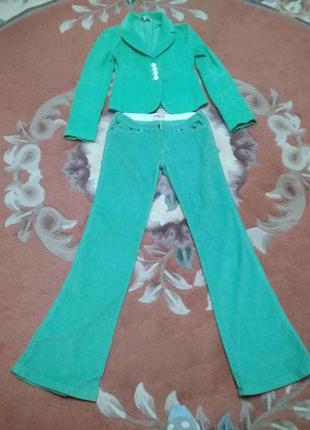 Вельветовый костюм teranova