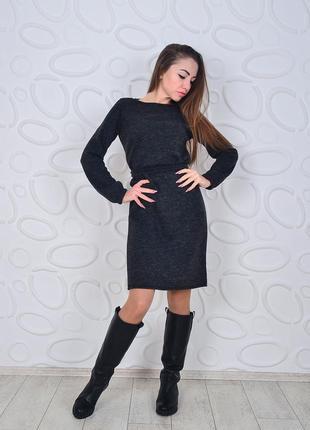 Платье теплое ангора софт