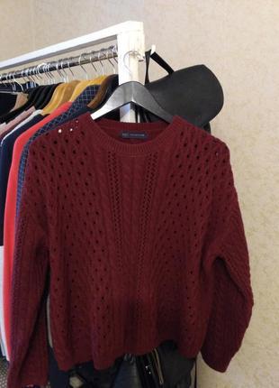 Красивый свитер оверсайз m&s