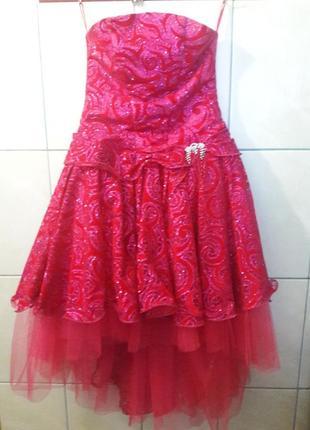 Платье на утренник на девочку