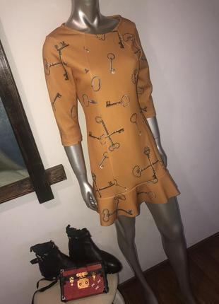 Платье неопрен
