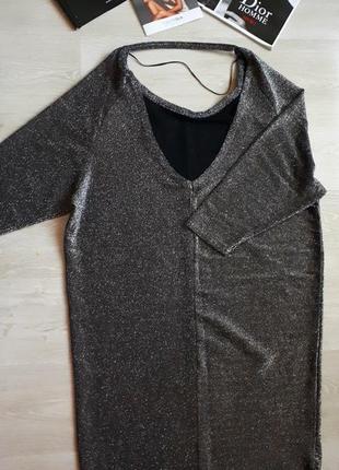 Серебряное платье versace /2я вещь в подарок