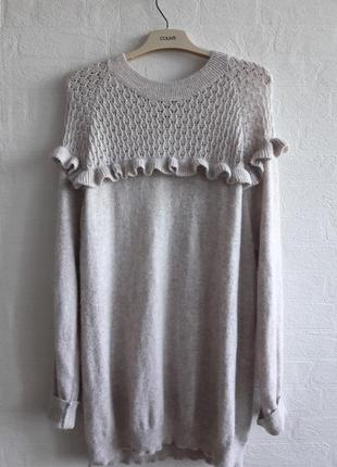 Стильный тепленький свитерочек, бренда next,подойдет на 54,56р.