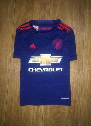 Спортивная футболка фк manchester united от adidas, 6-8 лет