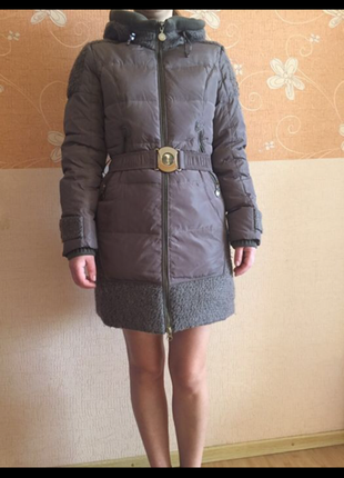 Пальто на пуху s