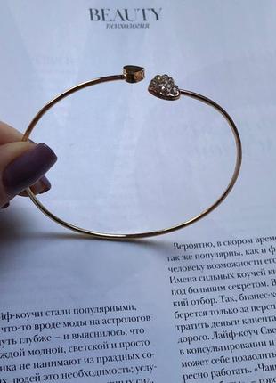 Стильный браслет с сердечками от accessorize
