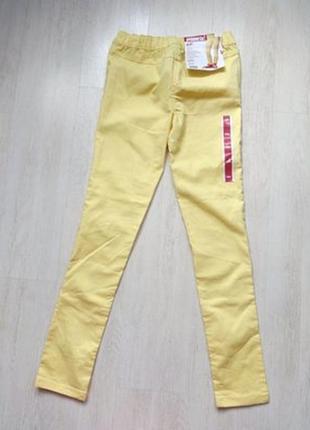 Лимонные джинсы джеггинсы рост 158 от pepperts германия