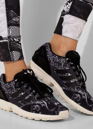 Оригинальные кроссовки adidas zx flux farm rio art s76592