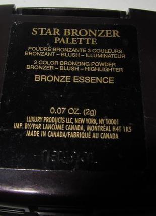 Палетка lancome star bronzer palette bronze4