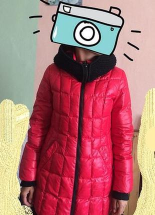 Пуховик пальто snow owl зима