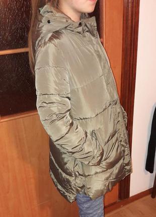 Куртка оливкового цвета
