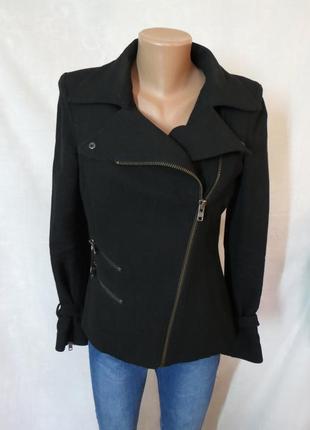 Черная косуха / куртка от zara