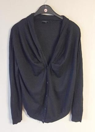 Шерстяная кофта мериносовая шерсть cos