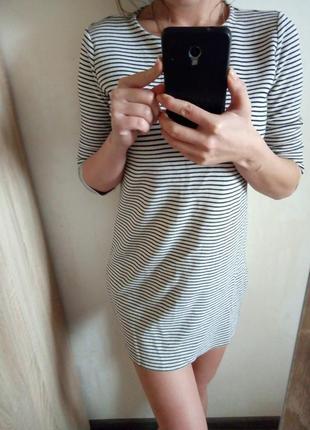 Платье nango,короткое платье,платье в полоску,платье