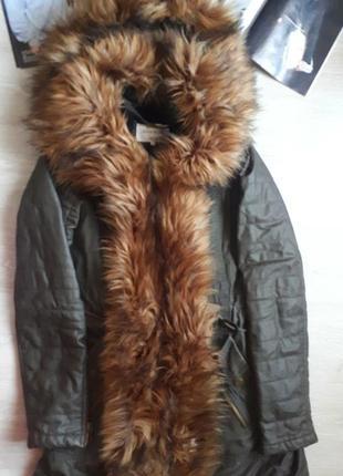 Зимняя куртка / парка на меху / теплая куртка