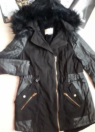 Парка на меху / теплая куртка / зимняя куртка