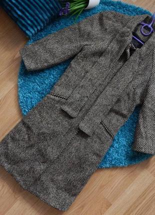 Пальто с натуральной шерстью