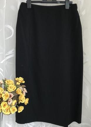 Безупречная ♥️👑♥️шерстяная люксовая юбка max mara, s-m, 44.