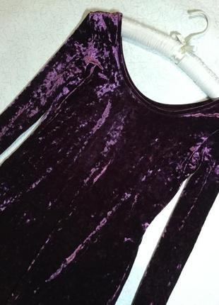 Платье вечернее бархатное h&m 12 размер