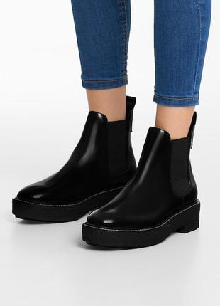 Новые ботинки bershka (35,36,37,38,39,40) челси
