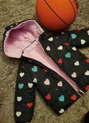 Демисизонная куртка на девочку