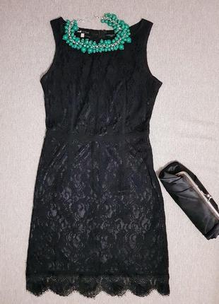 Гепюровое платье oodji