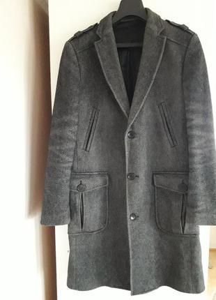 Пальто классическое   zara