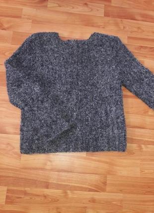 Очень крутой и теплый махровый свитер