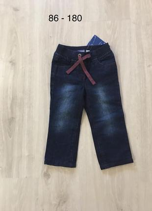 Новые джинсы с подкладкой lupilu