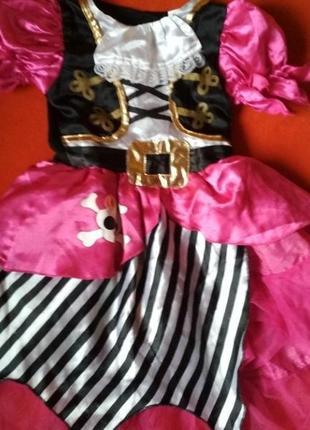 Новорічне,карнавальне плаття піратки tu 1-3 р