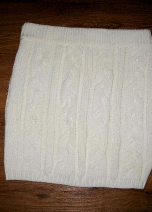 Шикарная вязаная коссами юбка sutherland s-xs