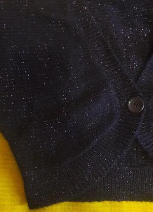 Болеро шерсть баклажан разм.м3 фото